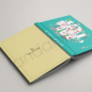 Buku Hardcover - Portfolio 1