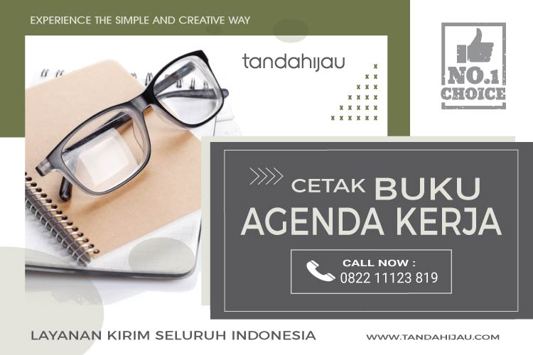 Cetak Buku Agenda Kerja di Surabaya-01