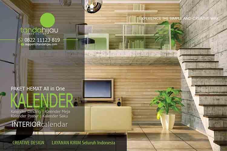 Cetak Kalender Interior Design di Banjarmasin