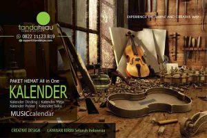 Cetak Kalender Musik di Bontang