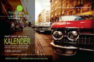 Cetak Kalender Otomotif di Balikpapan