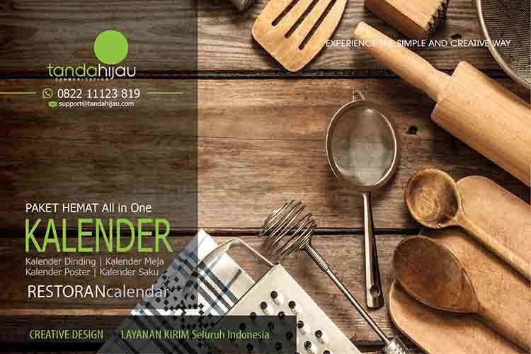 Cetak Kalender Restoran Surabaya