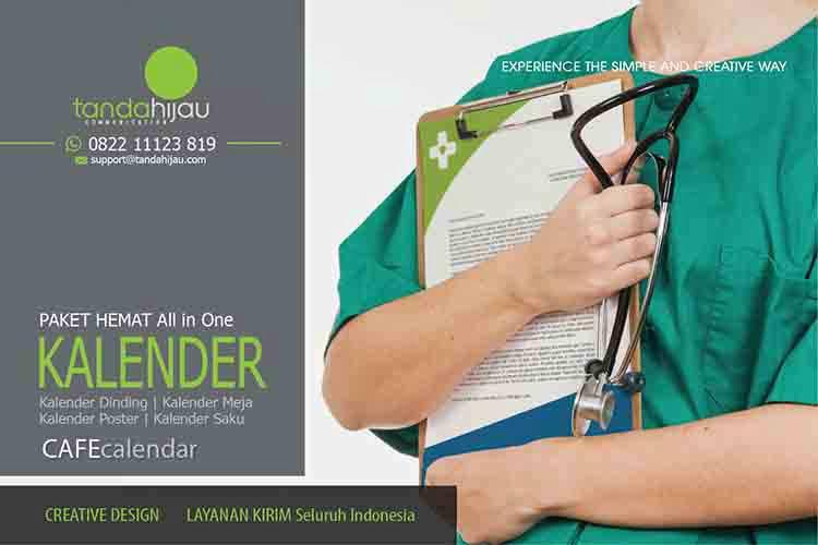 Cetak Kalender Rumah Sakit di Bontang