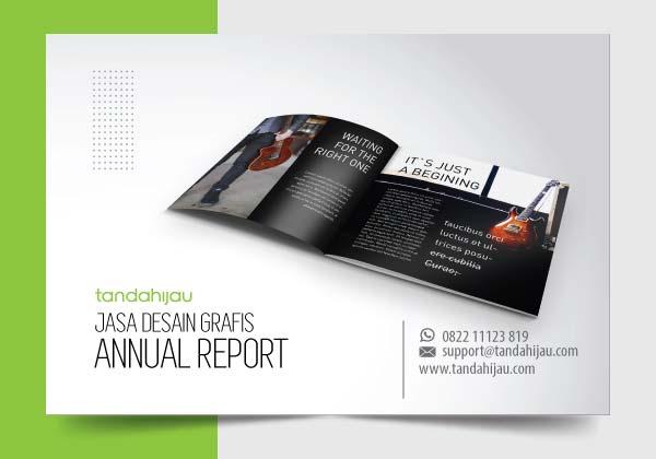 Jasa Desain Grafis Annual Report di Surabaya