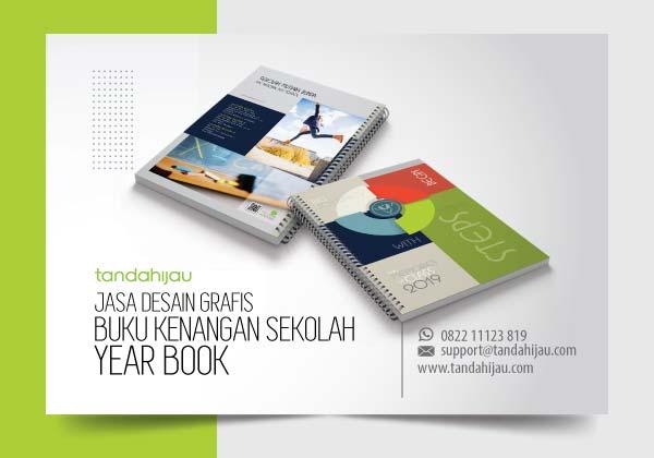 Jasa Desain Grafis Buku Tahunan Kenangan Sekolah di Surabaya