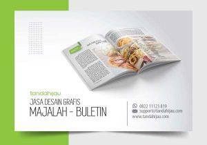 Jasa Desain Grafis Majalah Buletin di Surabaya