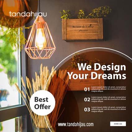 Jasa Desain Instagram Interior di Surabaya