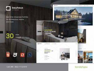Pembuatan Website Arsitek Architecture Surabaya