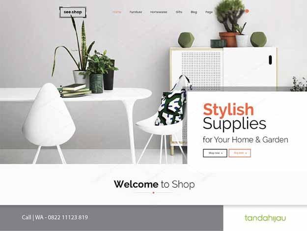 Pembuatan Website Desain Interior Surabaya
