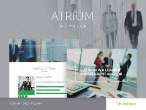 Pembuatan Website Financial Keuangan Bank Surabaya