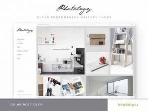 Pembuatan Website Gallery Foto Photography Surabaya
