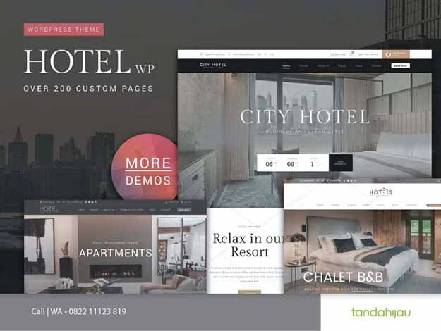 Pembuatan Website Hotel Surabaya