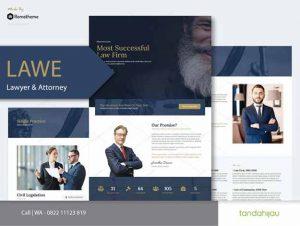 Pembuatan Website Lawyer Pengacara Surabaya