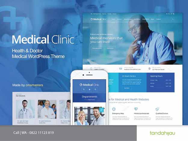 Pembuatan Website Medis Medical Rumah Sakit Surabaya