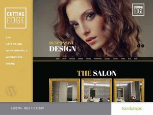 Pembuatan Website Salon Barbershop Surabaya