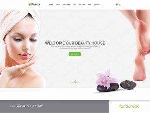 Pembuatan Website Spa Cosmetik Kosmetik Kecantikan Surabaya