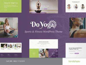 Pembuatan Website Yoga Surabaya
