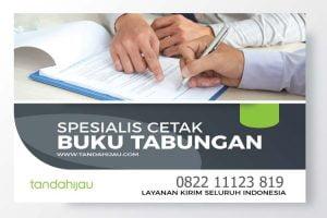 Spesialis Cetak Buku Tabungan di Manado-01