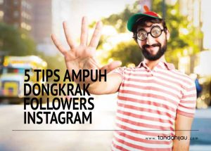 Dongkrak Followers Instagram