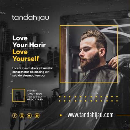Jasa Desain Instagram Barber Balikpapan
