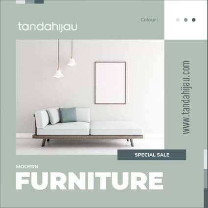 Jasa Desain Instagram Furniture Samarinda