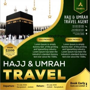 Jasa Desain Instagram Haji Umrah Jogja