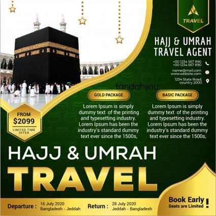 Jasa Desain Instagram Haji Umrah Makassar