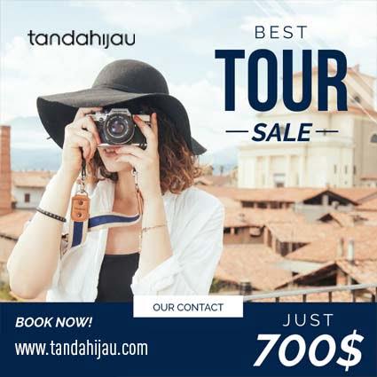 Jasa Desain Instagram Travel Samarinda