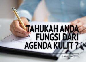 Fungsi Agenda Kulit