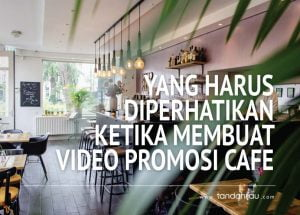 video promosi cafe